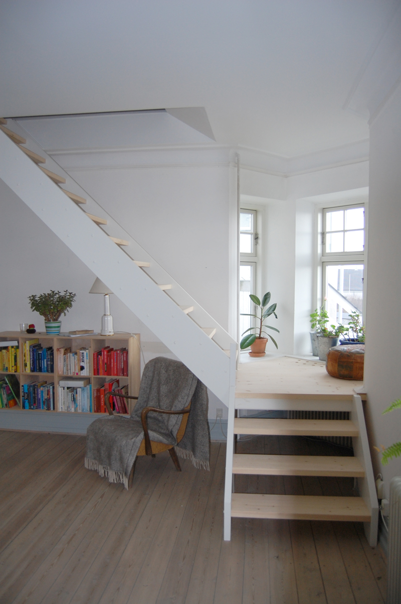 Flot lys trappe