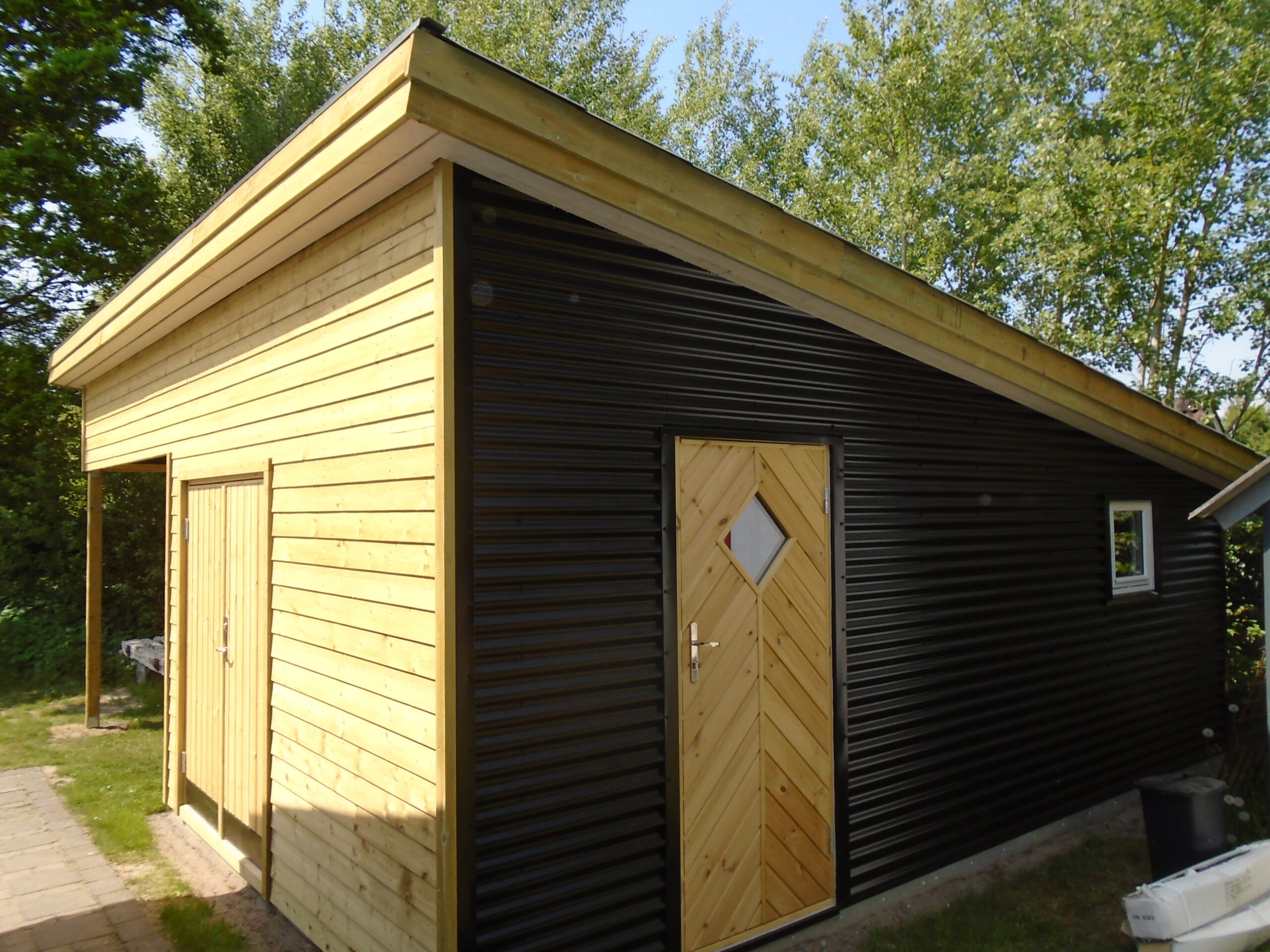 Ungdommelige Carport / udhus | Thymann's Tømrerfirma GL61