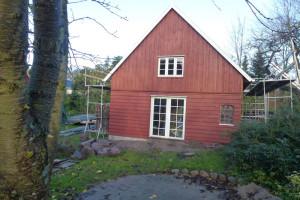 Ny dobbeltdør og vindue fra Outline (træ)