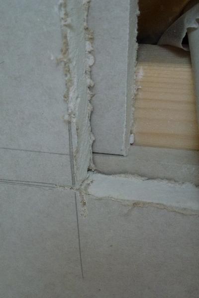 Dobbelt lag gips for bedre afstivning af væggen