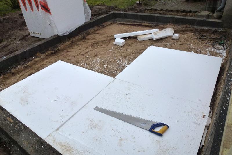 15cm Sondolit i udhus gulv