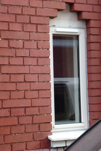 Montering af vindue med udluftning