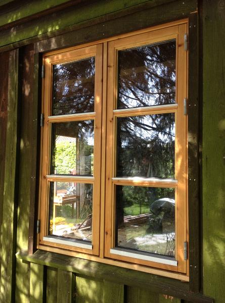 Isætning af vinduer
